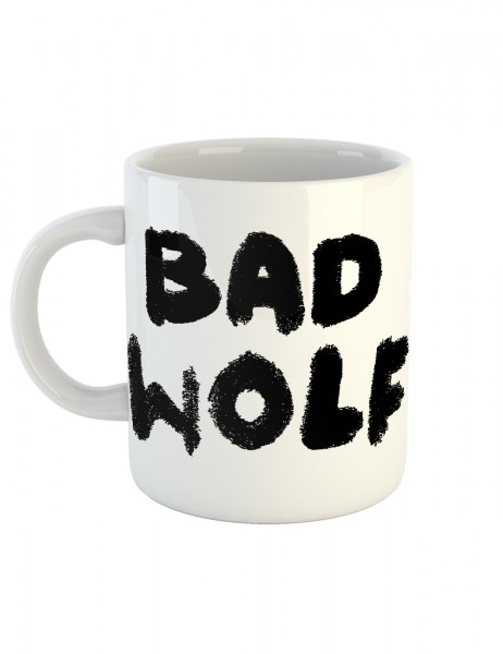 clothinx Kaffeetasse mit Aufdruck Bad Wolf