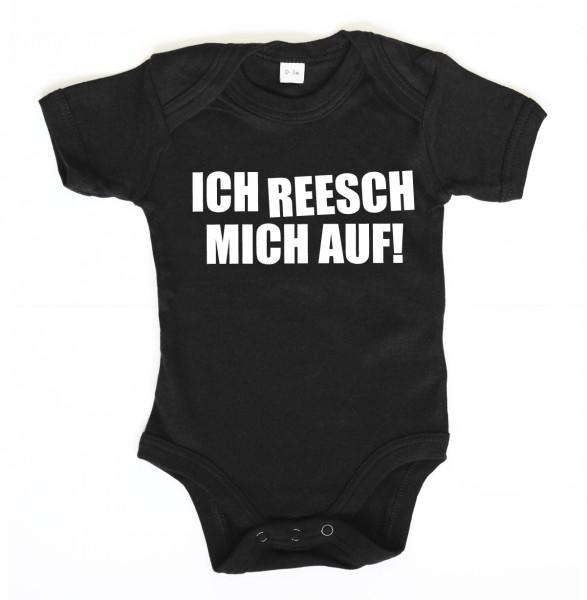 ::: ICH REESCH MICH AUF ::: Baby Body für Mädchen & Jungen