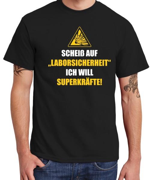 -- Scheiß auf Laborsicherheit -- Boys T-Shirt