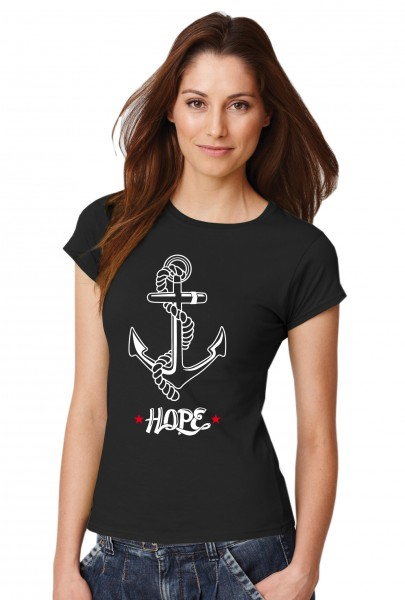 ::: HOPE ::: Grafikdesign Shirt made with Love ::: Damen