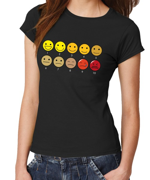 -- Pain Chart -- Girls T-Shirt