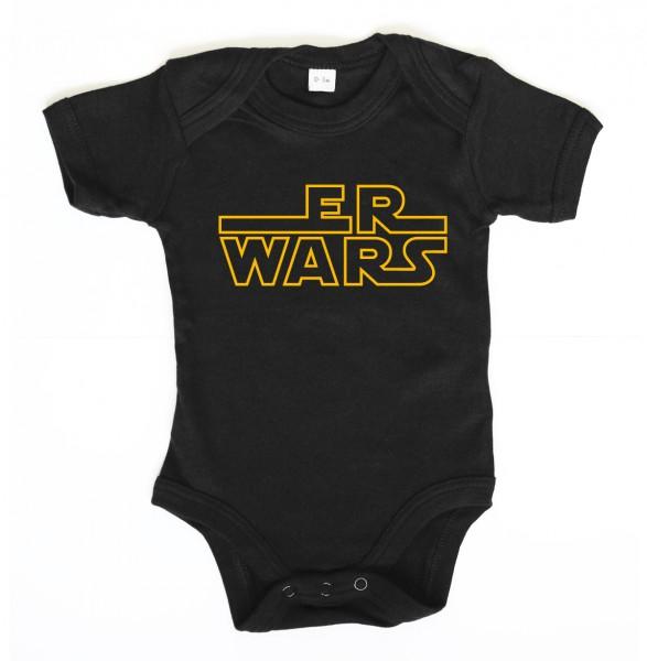 ::: ER WARS ::: Grafikdesign Body made with Love ::: Baby Body Jungen
