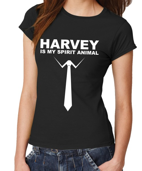 -- Harvey is my spirit animal -- Girls T-Shirt