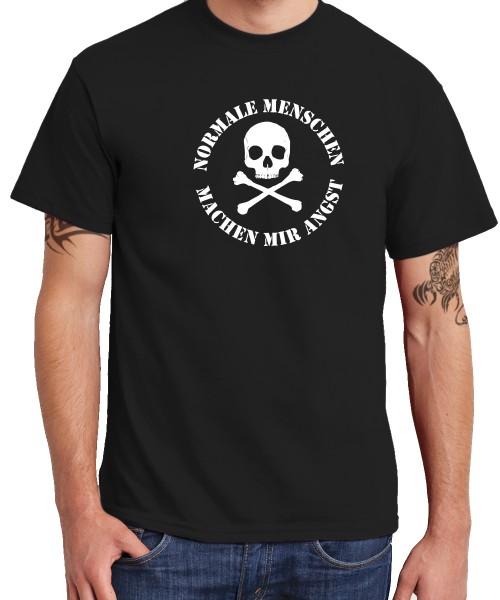 -- Normale Menschen machen mir Angst -- Boys T-Shirt