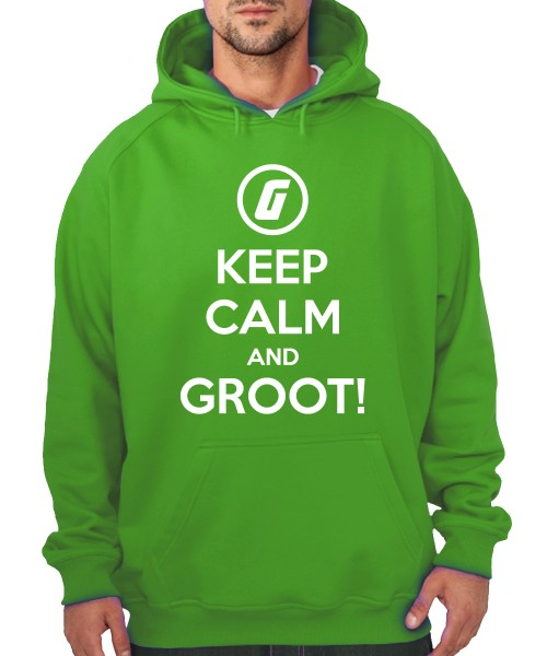 -- Keep Calm and Groot! -- Boys Kapuzenpullover