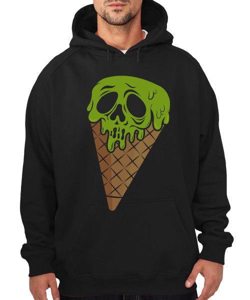 -- I Scream Halloween Motiv -- Boys Kapuzenpullover