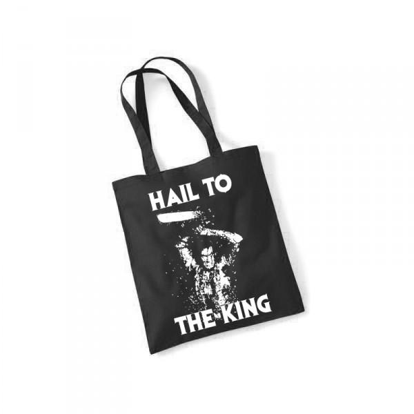 -- Hail to The King -- Baumwolltasche