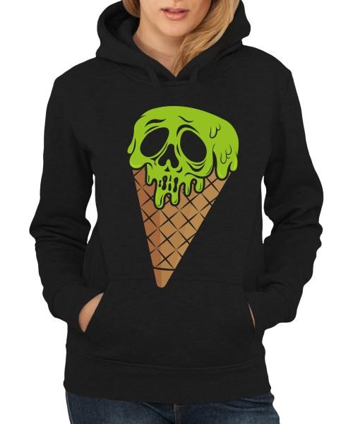 -- I Scream Halloween Motiv -- Girls Kapuzenpullover