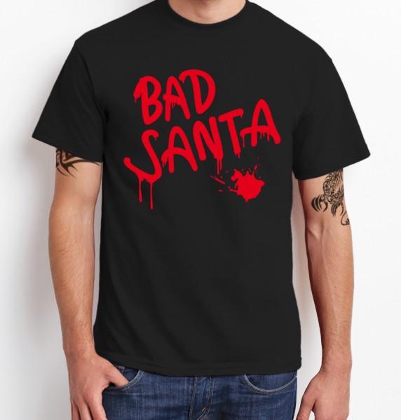 ::: BAD SANTA ::: T-Shirt Herren