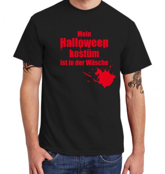 ::: MEIN HALLOWEENKOSTÜM IST IN DER WÄSCHE ::: T-Shirt ::: Herren