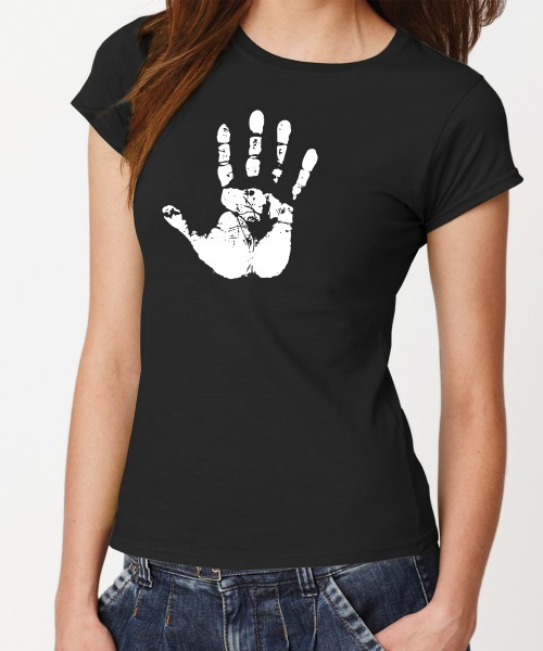 -- Weiße Hand -- Girls T-Shirt