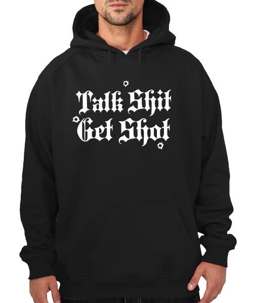 -- Talk Shit Get Shot -- Boys Kapuzenpullover