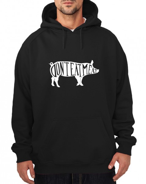 ::: DON'T EAT MEAT ::: Hoody ::: Herren