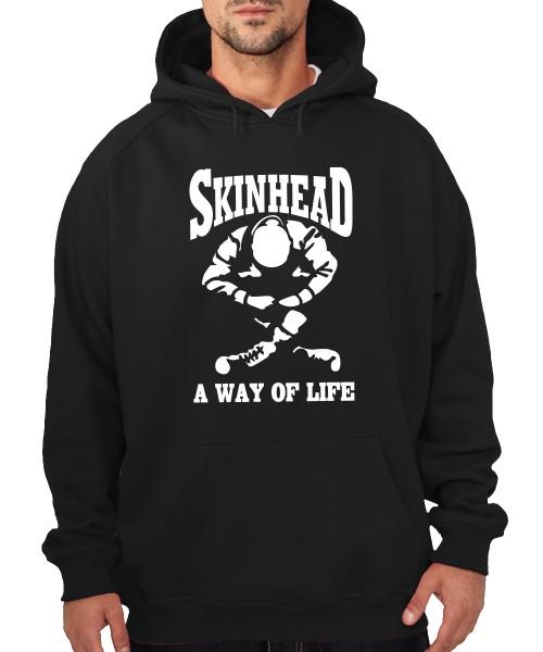 -- Skinhead - a Way of Life -- Boys Kapuzenpullover