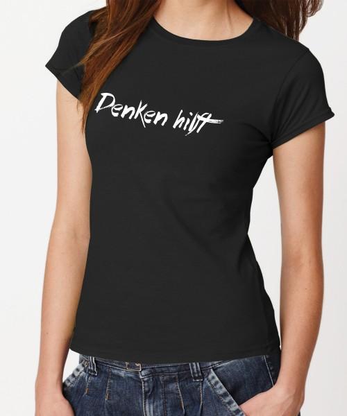 -- Denken hilft -- Girls T-Shirt