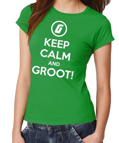 -- Keep Calm and Groot! -- Girls T-Shirt