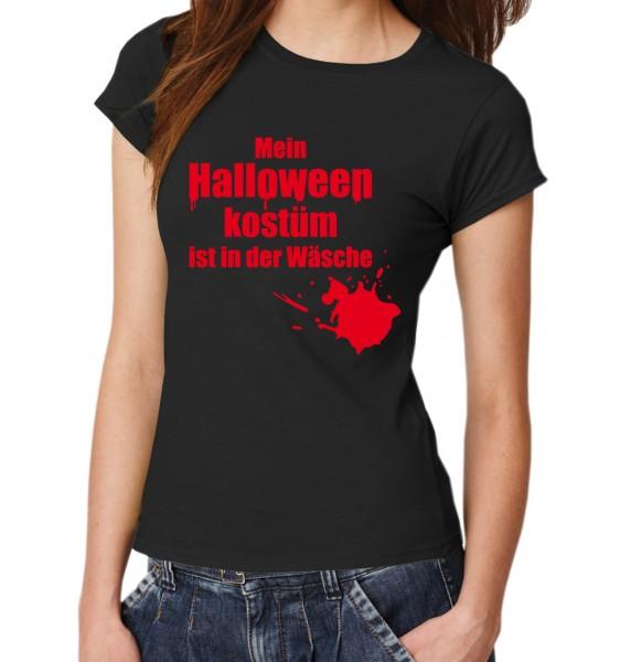 ::: MEIN HALLOWEENKOSTÜM IST IN DER WÄSCHE ::: T-Shirt Damen