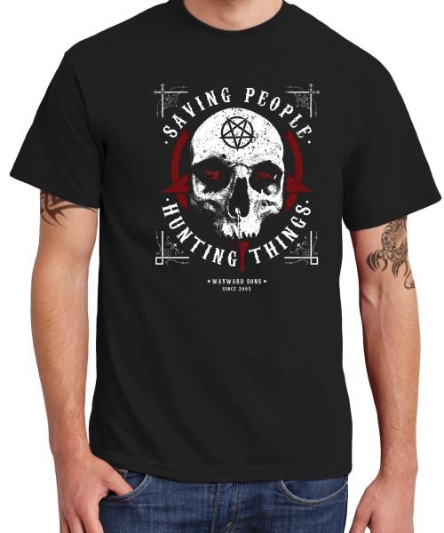 -- Saving People and Hunting Things -- Boys T-Shirt
