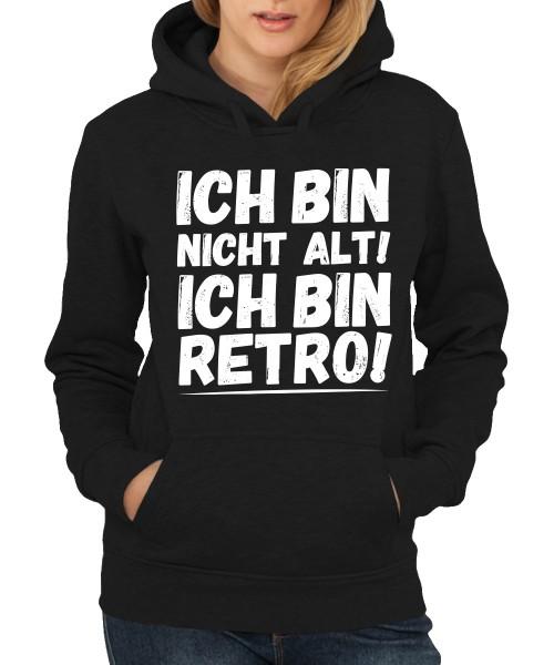 -- Ich bin retro! -- Girls Kapuzenpullover