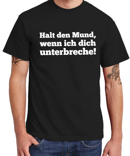 -- Halt den Mund! -- Boys T-Shirt