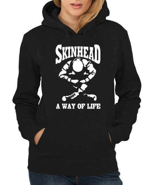 -- Skinhead - a Way of Life -- Girls Kapuzenpullover