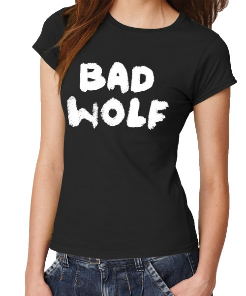 -- BAD WOLF -- Girls T-Shirt