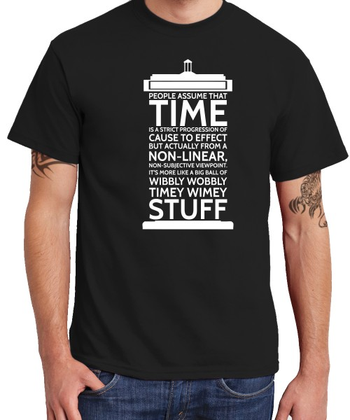 -- Time Stuff -- Boys T-Shirt