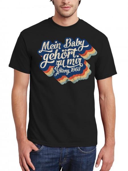 clothinx Mein Baby gehört zu mir Herren T-Shirt