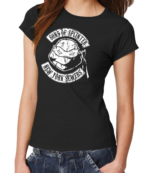 -- TMNT - Sons of Splinter -- Girls T-Shirt