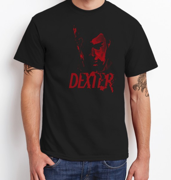 -- Dexter Face -- Boys T-Shirt