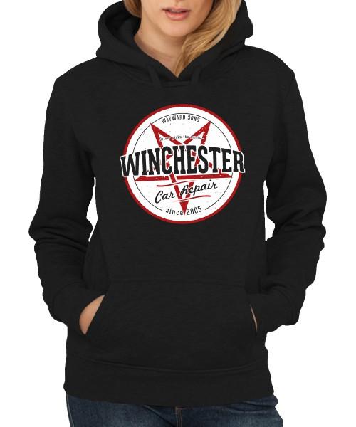 -- Winchester Car Repair -- Girls Kapuzenpullover