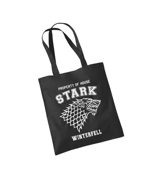 -- Property of House Stark -- Baumwolltasche