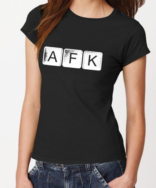 -- AFK Away From Keyboard -- Girls T-Shirt