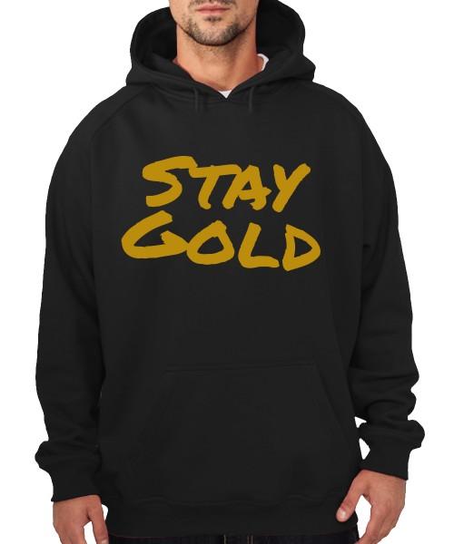 -- Stay Gold -- Boys Kapuzenpullover