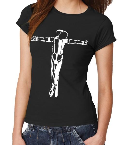 -- Crucified Skinhead -- Girls T-Shirt