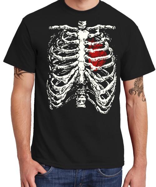 -- Skelett Kostümshirt -- Boys T-Shirt