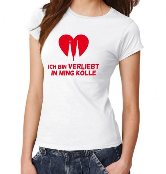 ::: ICH BIN VERLIEBT IN MING KÖLLE ::: T-Shirt Damen
