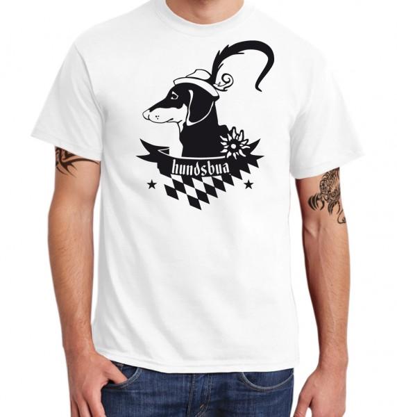 ::: HUNDSBUA ::: Grafikdesign Shirt made with Love ::: Herren