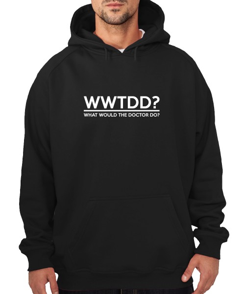 -- What Would The Doctor do? -- Boys Kapuzenpullover