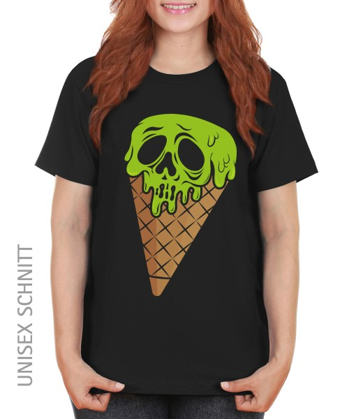 -- I Scream Halloween Motiv -- Girls T-Shirt auch im Unisex Schnitt