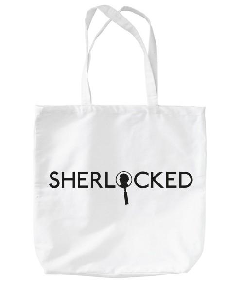 -- Sherlock Profile -- Baumwolltasche