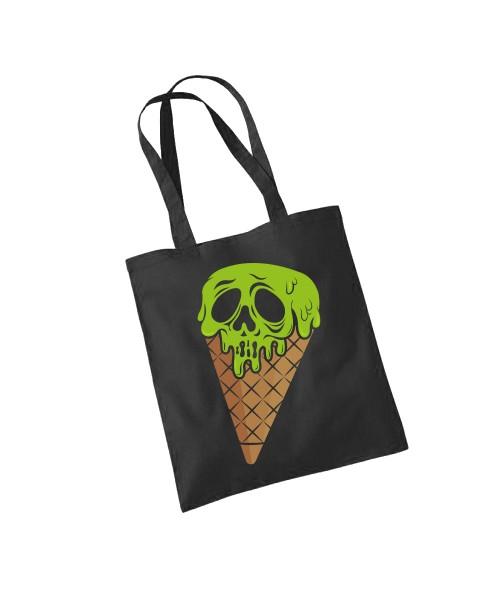 -- I Scream Halloween Motiv -- Baumwolltasche