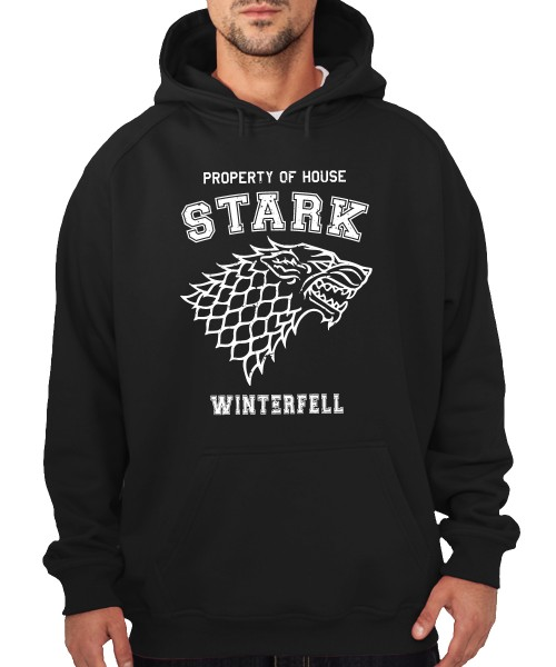 -- Property of House Stark -- Boys Kapuzenpullover