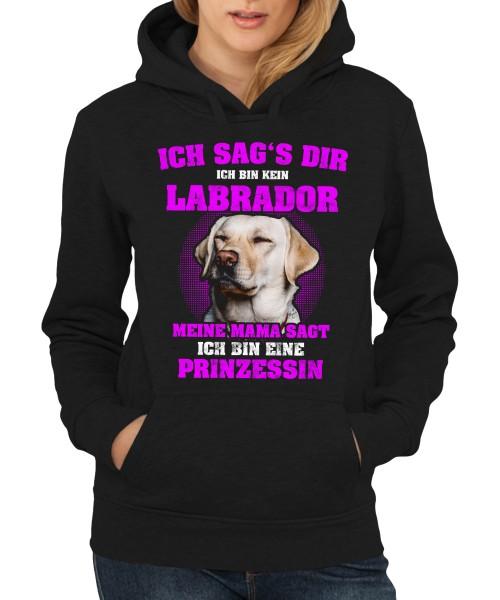 -- Labrador Prinzessin -- Girls Kapuzenpullover