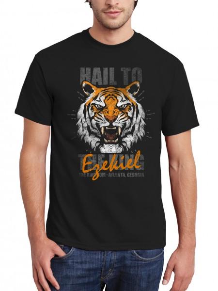 clothinx Herren T-Shirt Hail To Shiva