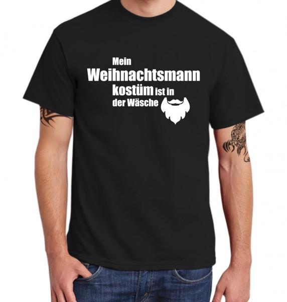::: MEIN WEIHNACHTSMANNKOSTÜM IST IN DER WÄSCHE ::: T-Shirt Herren