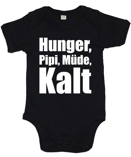-- Hunger, Müde, Pipi, Kalt -- Babybody