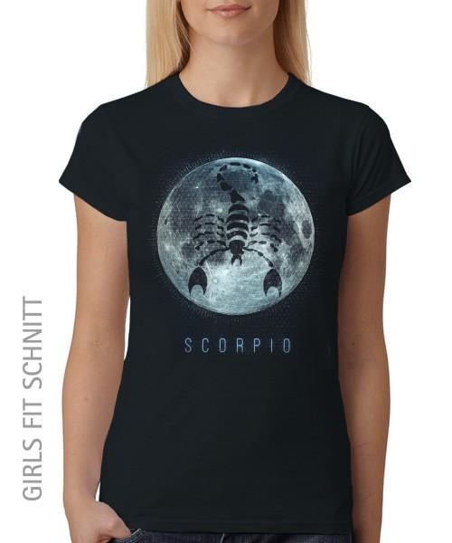 -- Sternzeichen Skorpion -- Girls T-Shirt auch im Unisex Schnitt