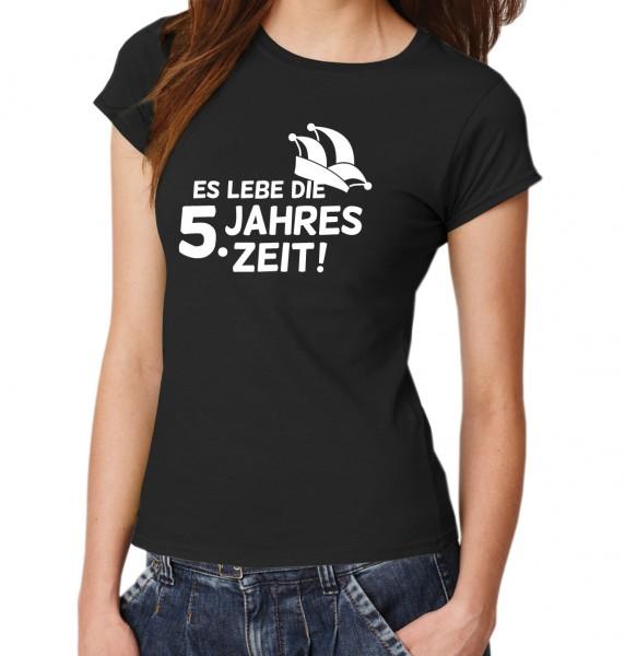 ::: ES LEBE DIE 5. JAHRESZEIT ::: T-Shirt Damen