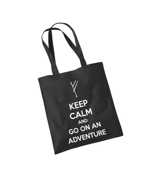 -- Go on an Adventure -- Baumwolltasche